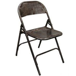 Klappstol  i jern