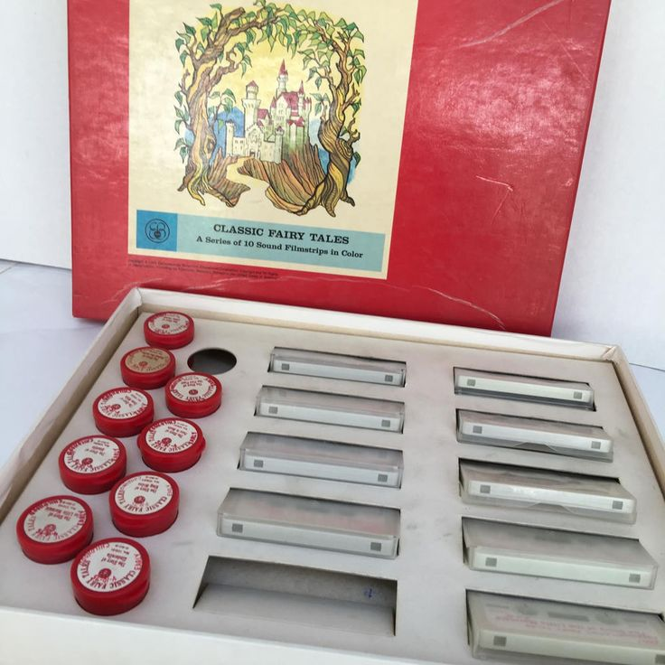 Classic Fairy Tales 10 Sound Filmstrips in Color 1965 Britannica Encyclopaedia