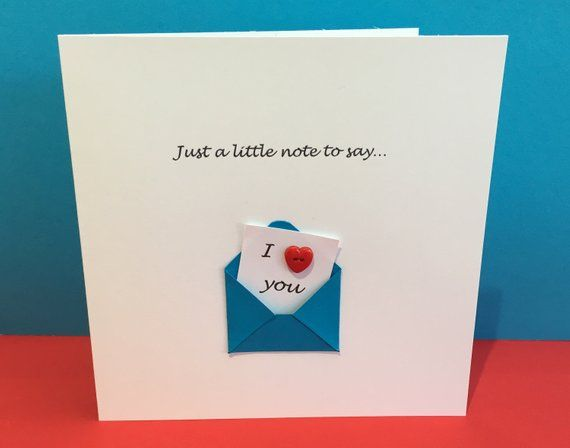 Valentines Day Card Cute Button Card Wedding Anniversary Greeting Car Anniversary Greeting Cards Wedding Anniversary Greeting Cards Anniversary Greetings