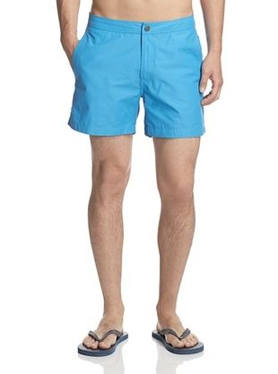 51% OFF Onia Men's Calder 5 Inch Solid Swim Trunk (Aquarius)
