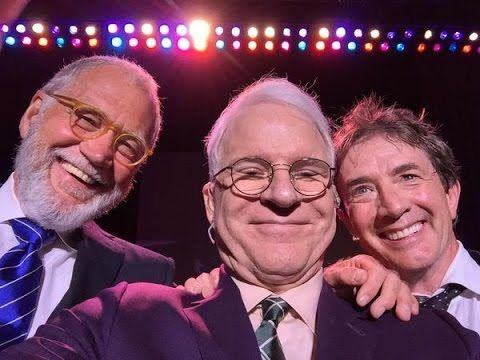 David Letterman Surprised Steve Martin In San Antonio With A Donald Trump-Themed 'Top 10′ https://youtu.be/Z-cQJLanQGo