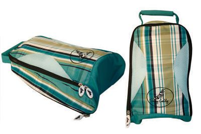 Plaid/Preppy Sassy Caddy Ladies Golf Shoe Bag at #lorisgolfshoppe