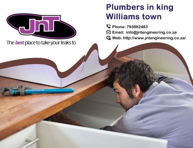 Jntengineering are one of the dynamic and fastest growing plumbers in King Williams Town renowned for offering highly dependable plumbing services. https://goo.gl/ms6Kic