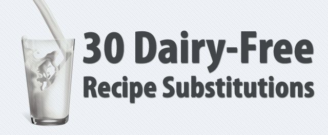 For the lactose intolerant or people who just want to avoid dairy!