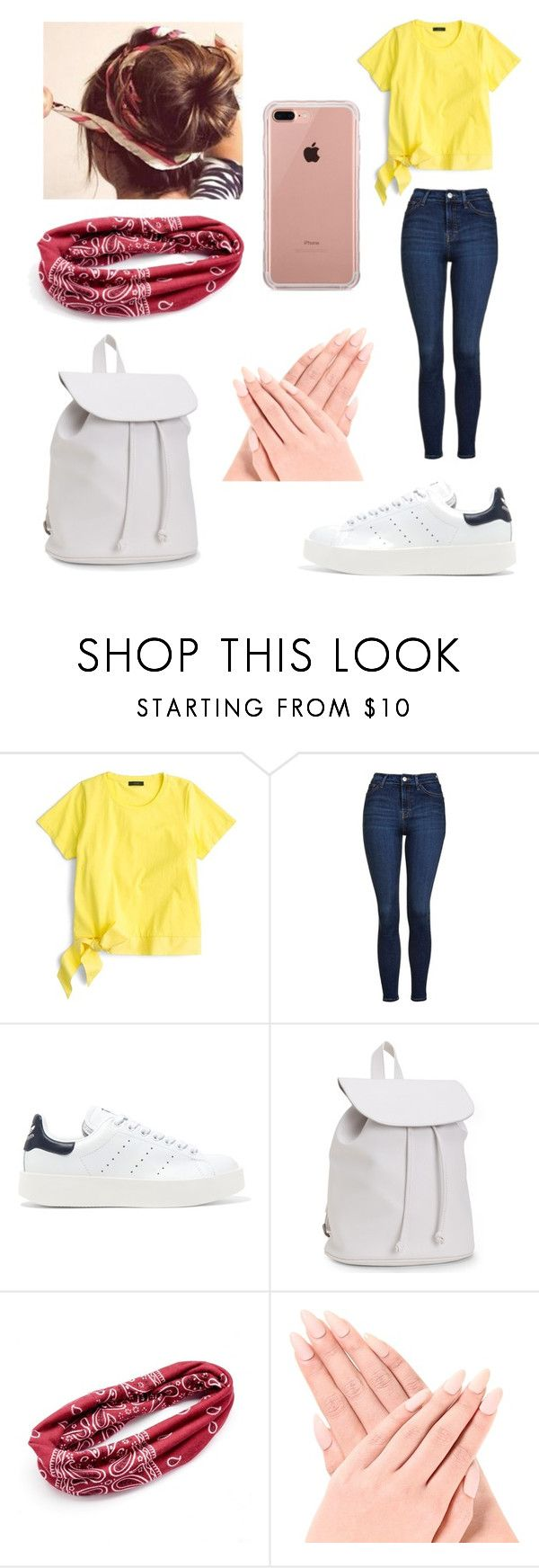 """-27-"" by khlooe ❤ liked on Polyvore featuring J.Crew, Topshop, adidas Originals, Aéropostale, Mudd and Belkin"