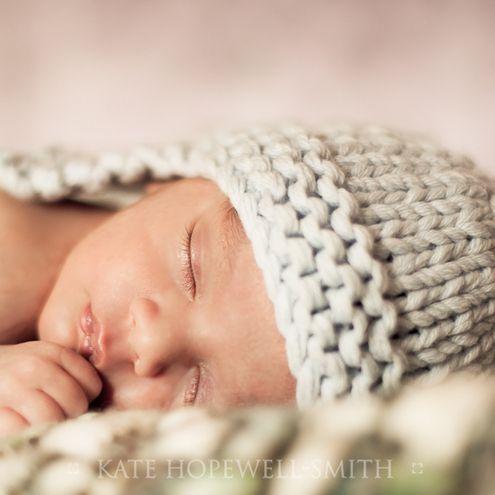Newborn Knit Hats | Free Baby Hat Knitting Patterns