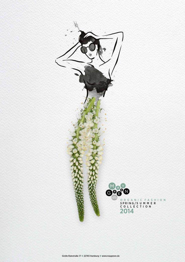 Maygreen: Floral Fashion, 2