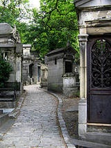 """Park"" describes Pere-Lachaise better than ""cemetery."" Plan to wander this mini city crowded with the deceased and their buildings for a few hours, as you'll be mesmerized by the artistic and freaky tombs. You may feel the need to see the overrated and underwhelming grave of Jim Morrison (it was cooler pre-barricade), but find Victor Noir instead, as rubbing his bronzed penis brings good luck. You'll feel like a Paris insider if you wait to watch others awkwardly pat his package, too."