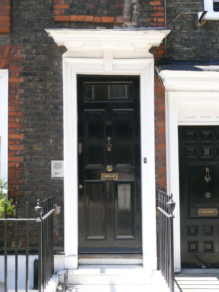 A Westminster front door.