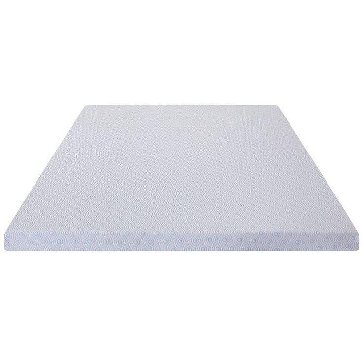 """Premium Cool I Gel Ventilation 2"""" Memory Foam Mattress Topper"""