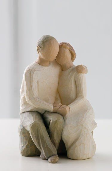 Anniversary - Willow Tree Figurine - The Shabby Shed  Sentimental: Love ever endures