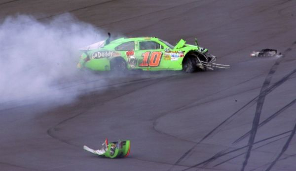 Ouch! Not a good way to start the season. Welcome to NASCAR Danica