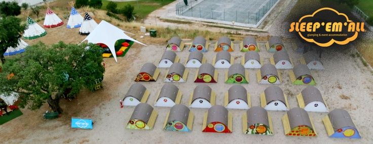 Camp Site - Aerial View