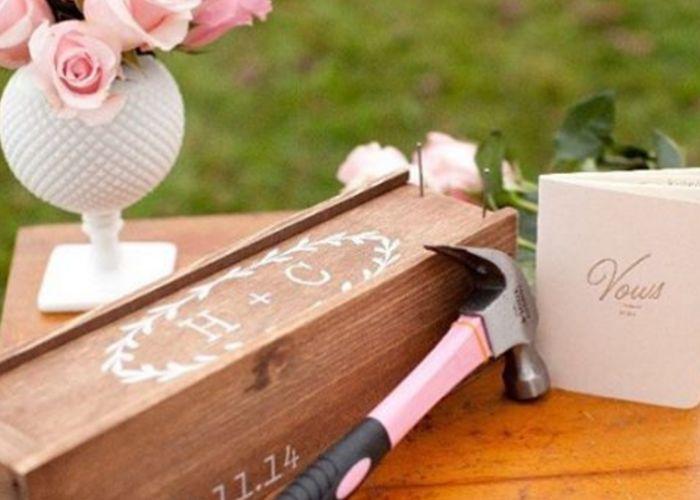 タイムカプセルみたいで素敵♡海外花嫁に人気の演出【ウエディングボックス】って知ってる??のトップ画像