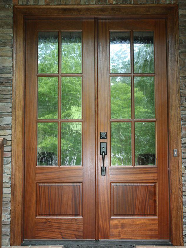 Replacing Single Door Amp Sidelights With A Double Door
