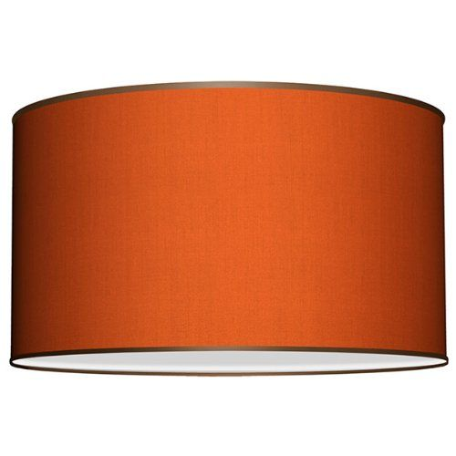 9 best my lamp shades only images on pinterest drum drum kit and seascape lamps deep drum lamp shade silk orange seascape lamps httpwww mozeypictures Images