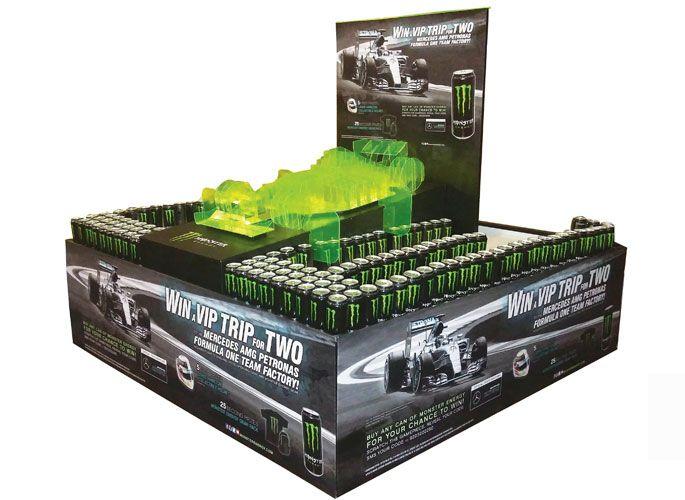 Kết quả hình ảnh cho monster energy display