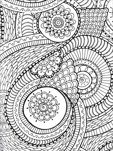 579 best images about coloring pages for adults on for Extreme coloring pages