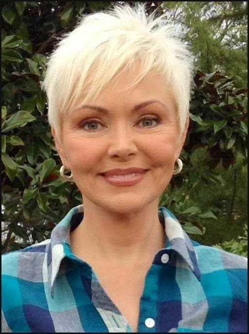 Die Besten 25 Kurzhaarfrisuren Damen Nach Chemo Ideen Auf