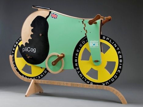 So maybe my stumble button is set to only show me bike things. But come on... a completely (functional) wooden bike... as long as you dont need to stop suddenly.