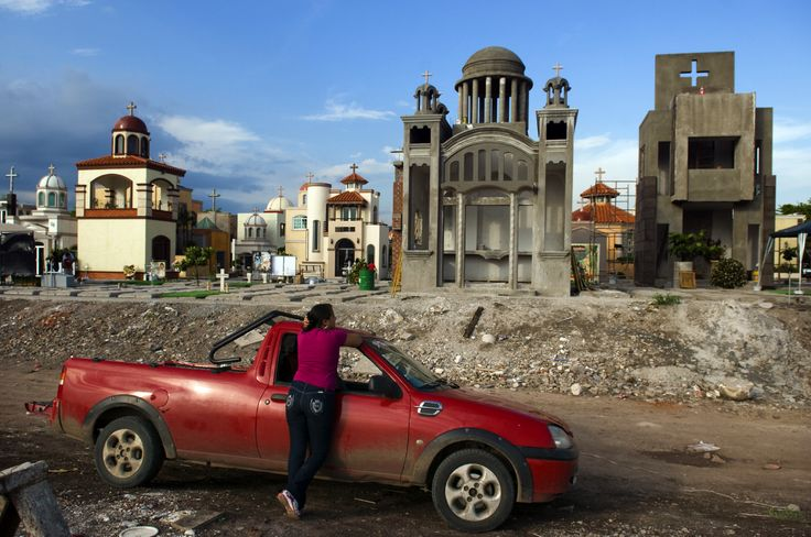 Narco luxury is reflected at the Jardines de Humaya cemetery in Culiacan, Sinaloa, where domed mausoleums are erected for drug war victims. ...
