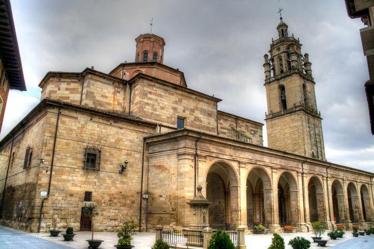 Iglesia de Santa Maria, Los Arcos #Navarra #CaminodeSantiago