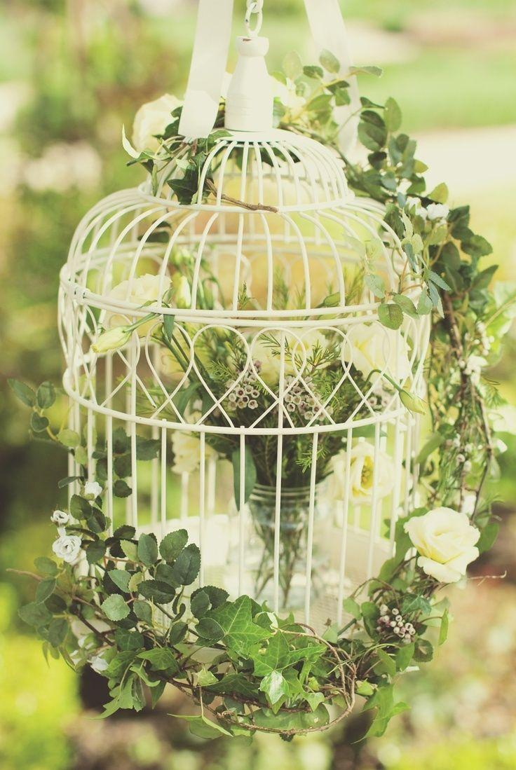 鳥かごって可愛い♡バードケージを使った会場コーディネートでおしゃれに差をつける*にて紹介している画像