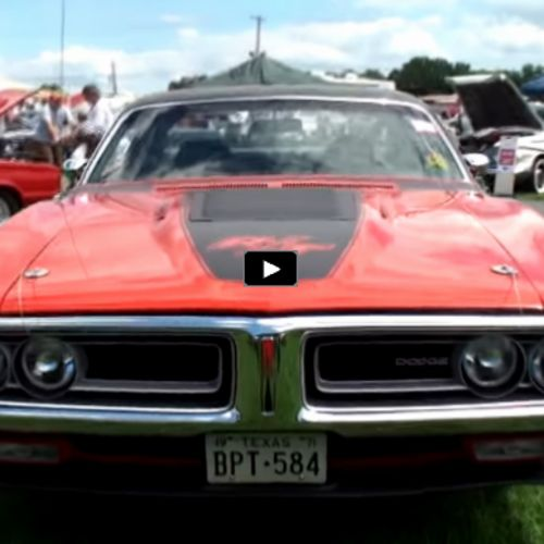 Hot American Cars — Bright Red 1971 Dodge Charger R/T Troublemaker |...