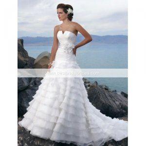 Maggie Sottero Destination Wedding Dress custom made in 35 days!