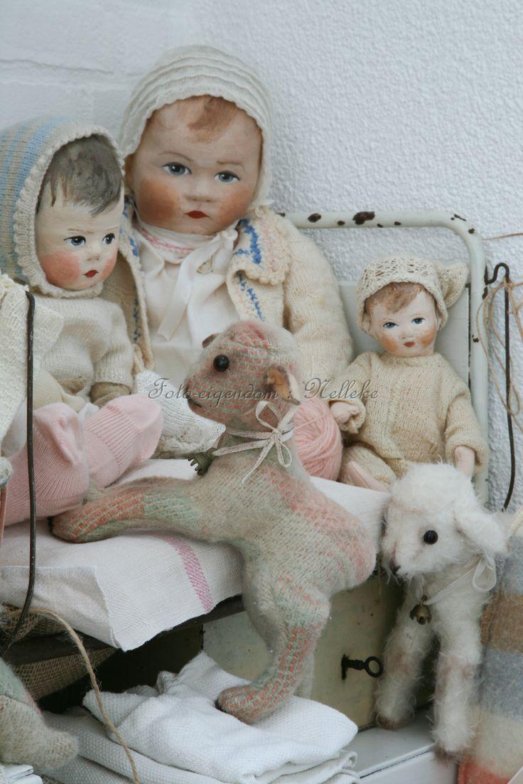 mijn zelfgemaakte poppen