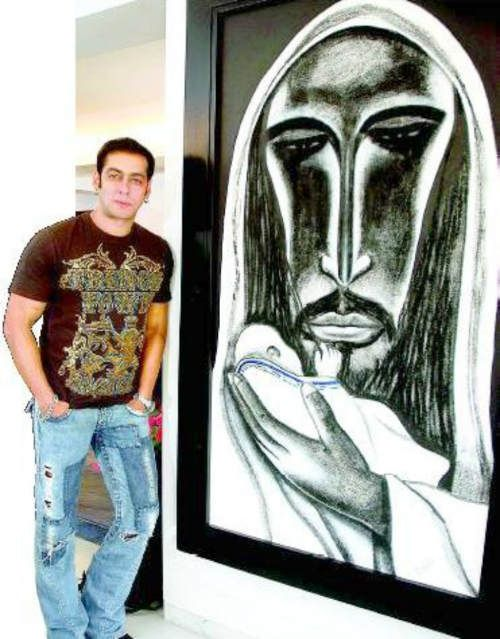 Salman Khan! 6 Amazing Paintings
