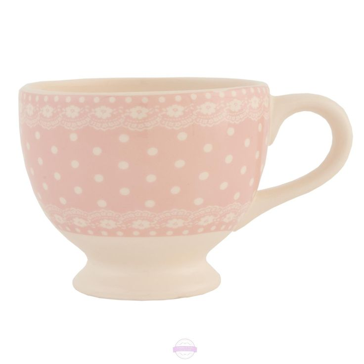 Keramický šálek Pink spot