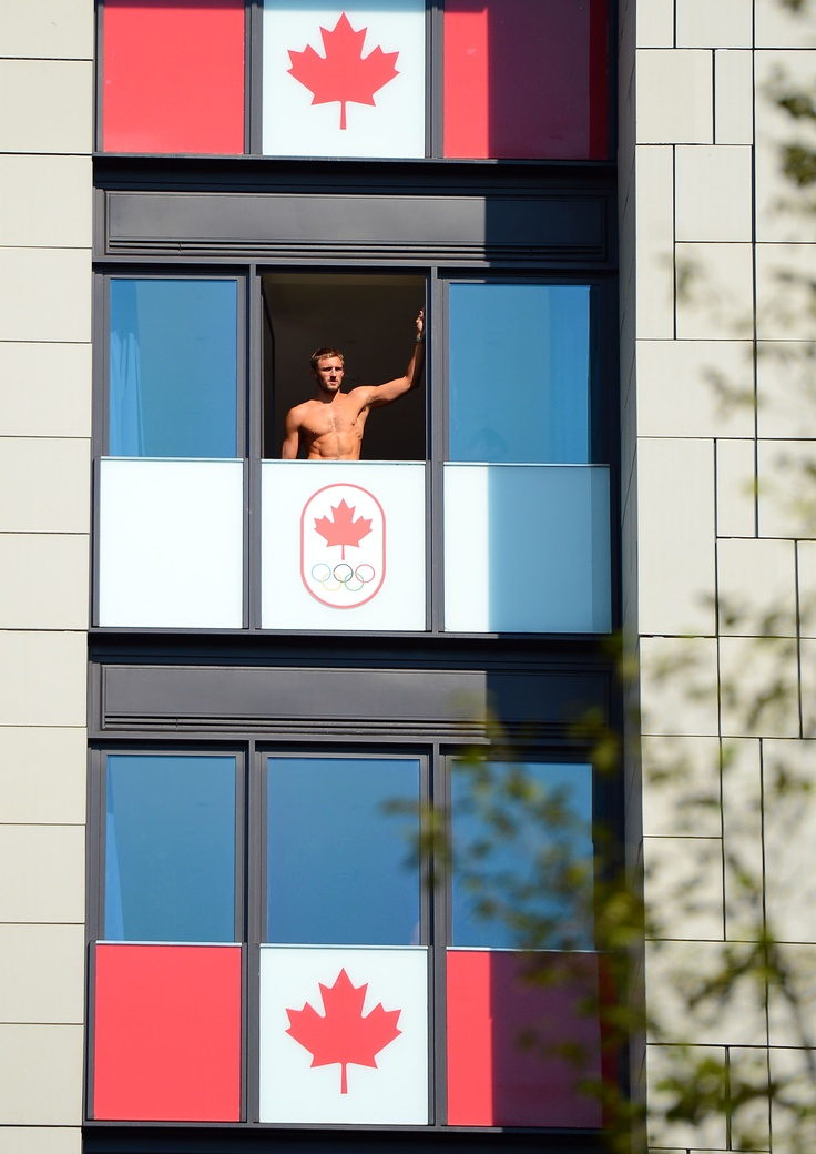 With living quarters this nice, Olympic athletes might never want to leave their rooms! (Credit: Christopher Hanewinckel / USA TODAY Sports): 2012 Olympics, Canadian Olympic, Canada, Olympic Village, Canadian Men