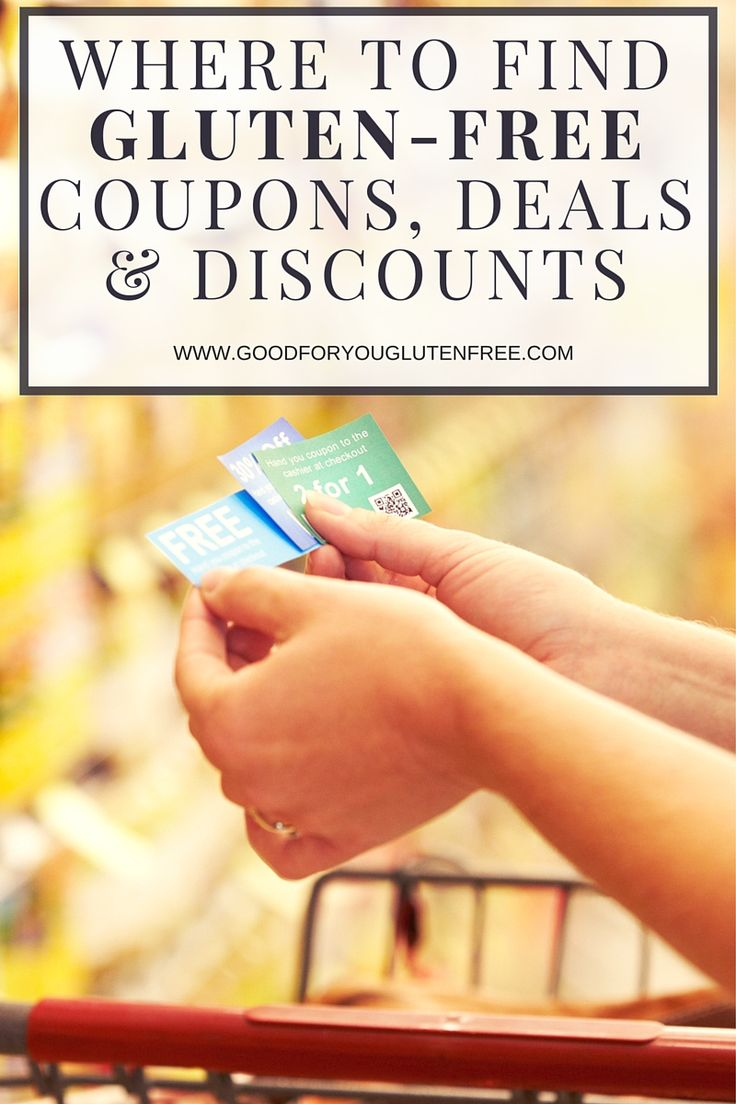 Stumped on where to find Gluten-Free coupons and deals? Get the 411 on where to find the best deals on gluten-free groceries and how to find printable gluten-free coupons for products you already buy. #goodforyouglutenfree