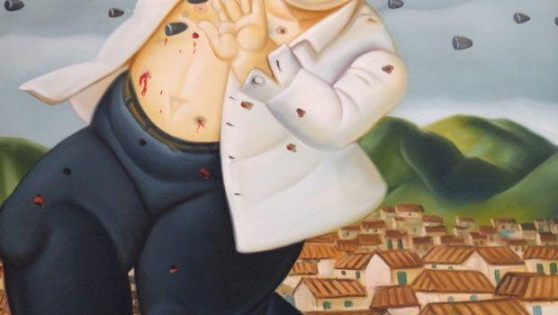 Fernando Botero, The Death of Pablo Escobar (1999).