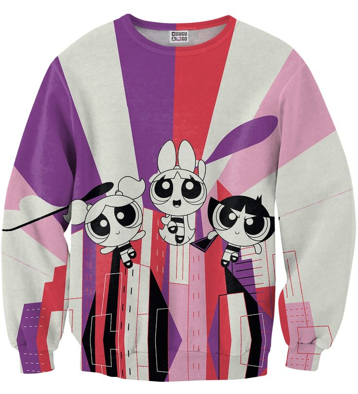 Colorful Power sweater, Mr. GUGU & Miss GO
