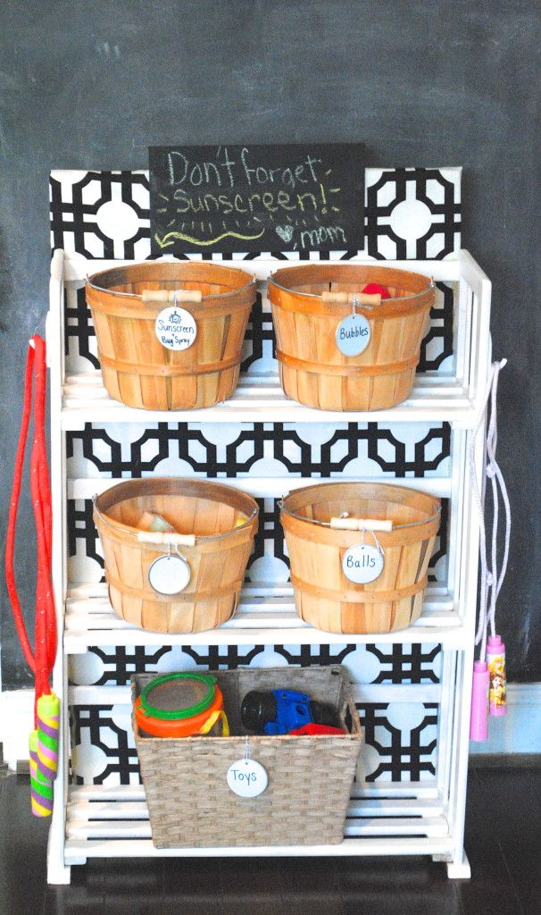 DIY Garage Shelving and Toy Storage   ^^Looksi DIY ...