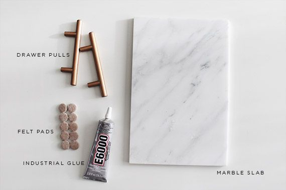 diy marble tray materials - for that giant slab of marble i saw at home depot & fell in love with but had no use for