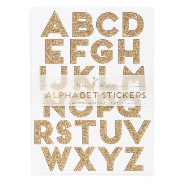 Célèbre Plus de 25 idées uniques dans la catégorie Stickers alphabet sur  NW85