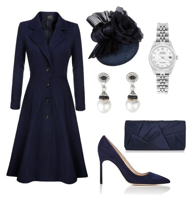""""" by dresslikearoyal on Polyvore featuring Manolo Blahnik, Rolex and Nina"