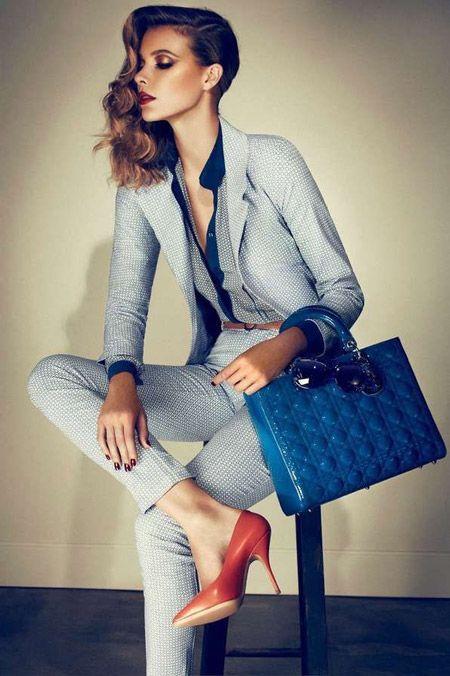 Официально принятый, деловой стиль женской и мужской одежды – Италия по-русски
