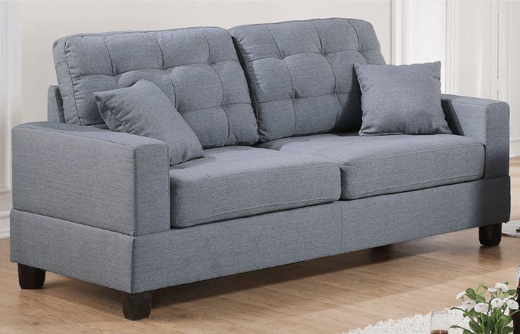 Broadstone Family Sofa in Pewter