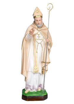 S. Alfonso  altezza cm. 45 in gesso disponibile anche in resina vuota dipinto con colori acrilici  http://www.ovunqueproteggimi.com/collezione-statue/santi/alfonso/