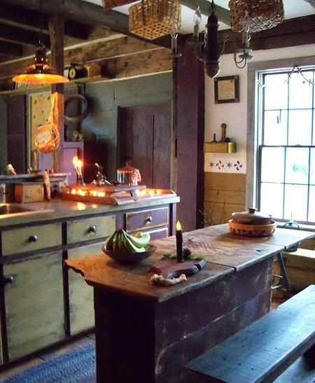 Primitive Kitchen Decor Ideas: 211 Best Rustic Country/Farmhouse Kitchens.... Images On