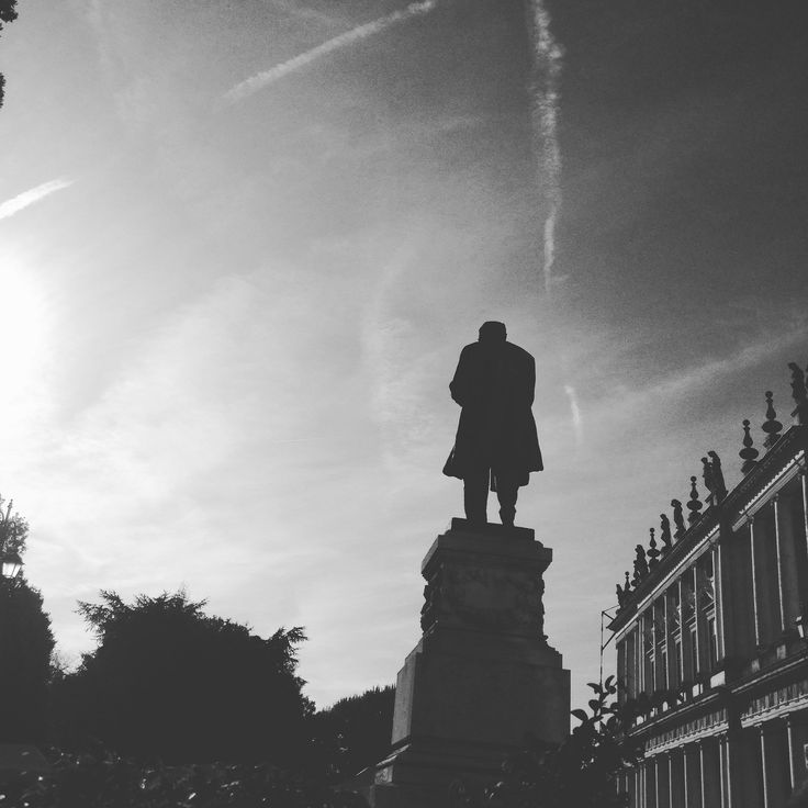 https://flic.kr/p/Af3ATu | #Vicenza #olimpic #theater #BW #statue #palace #building