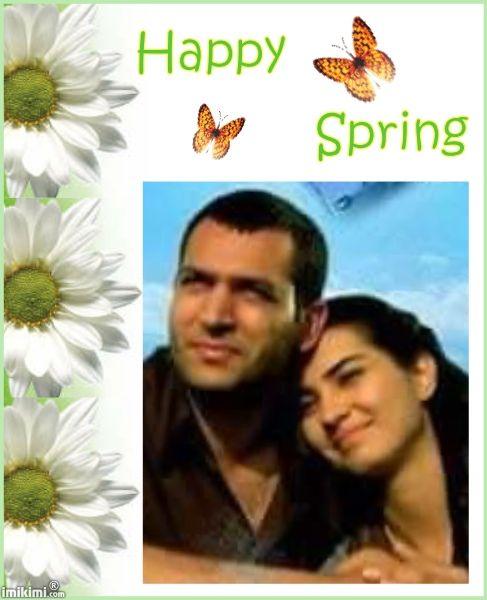 Happy Spring Photo Frame
