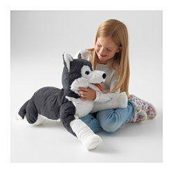 IKEA - LIVLIG, Pluszak, , Wszystkie pluszowe zabawki są dobre do przytulania i pocieszania, a także lubią zabawy i psoty. Ponadto są godne zaufania i przeszły testy bezpieczeństwa.