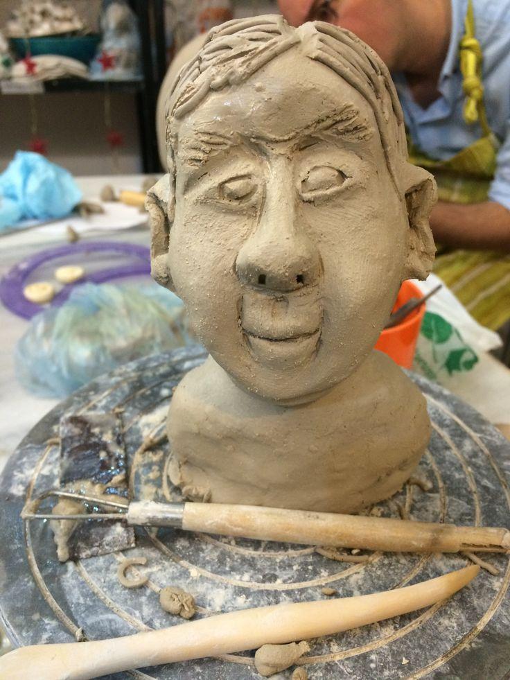 Clay, Sculpture - Ayse Ozturkmen