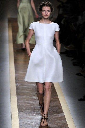 Moda anni '50, minidress Valentino