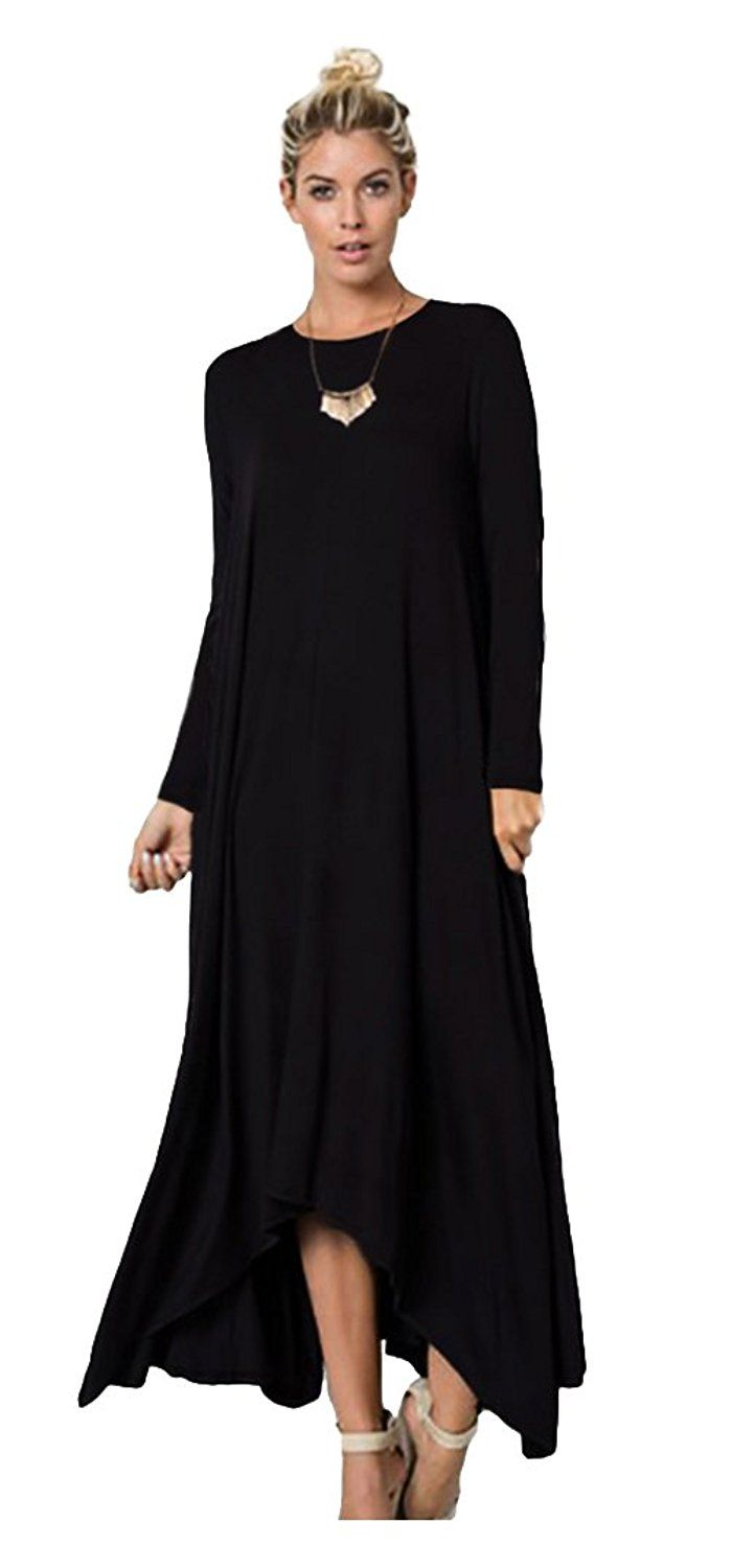 379aef7b4be37 10 Best Fashionable Trending Casual Long Dress 2018  casualdress  longdress